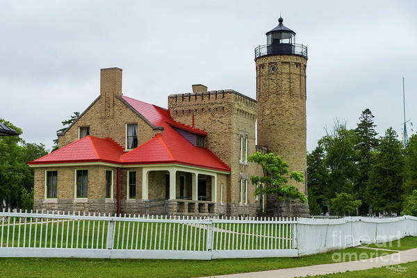 Michilimackinac Wall Art - Photograph - Mackinac Point Lighthouse by Jennifer White