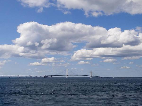 Photograph - Mackinac Sky by Keith Stokes