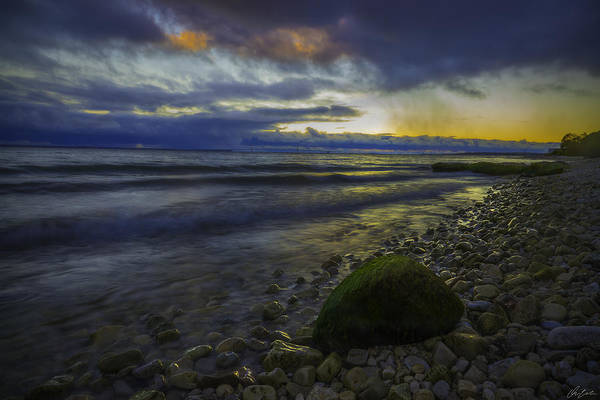 Photograph - Mackinaw Island Sunset by Owen Weber