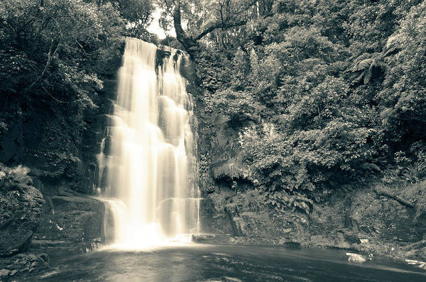 Photograph - Maclean Falls New Zealand by U Schade