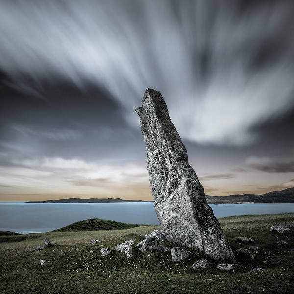 Wall Art - Photograph - Macleod's Stone by Dave Bowman