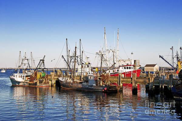 Provincetown Harbor Photograph - Macmillan Wharf by John Greim