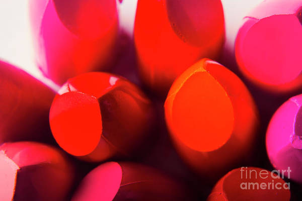 Wall Art - Photograph - Macro Cosmetic Art by Jorgo Photography - Wall Art Gallery
