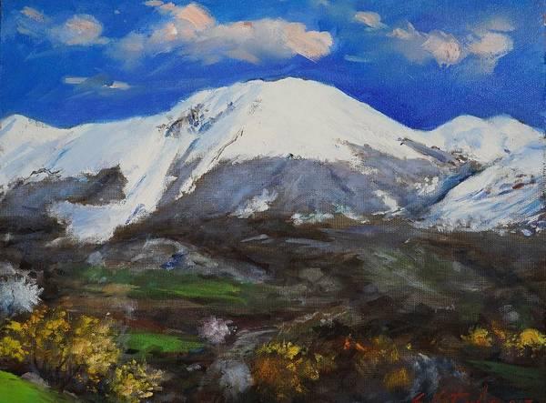 Painting - Macukulli Madheshtoreland by Sefedin Stafa