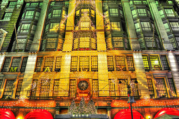 Wall Art - Photograph - Macy's At Christmas by Randy Aveille