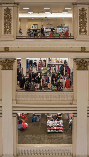 Photograph - Macy's Department Store by Barry Weiss