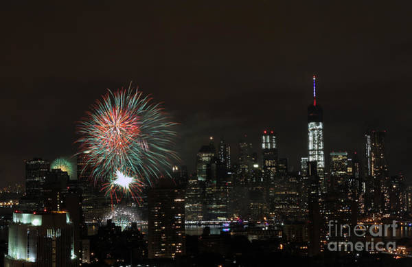 Photograph - Macy's-july 4th 2015-fireworks-3 by Steven Spak
