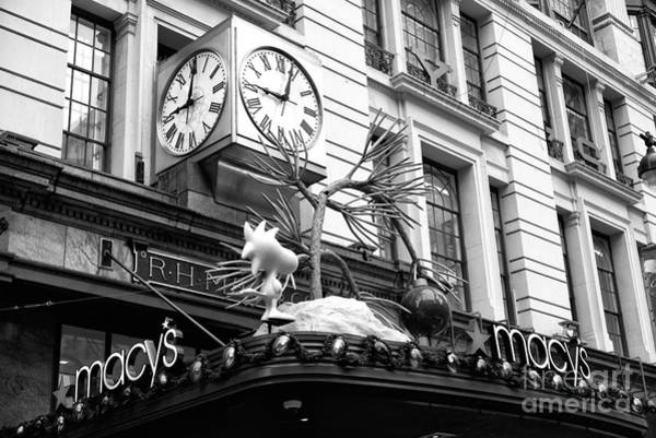 Wall Art - Photograph - Macy's Time by John Rizzuto