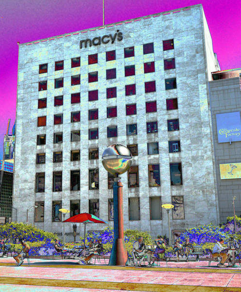 Photograph - Macy's by Tom Kelly
