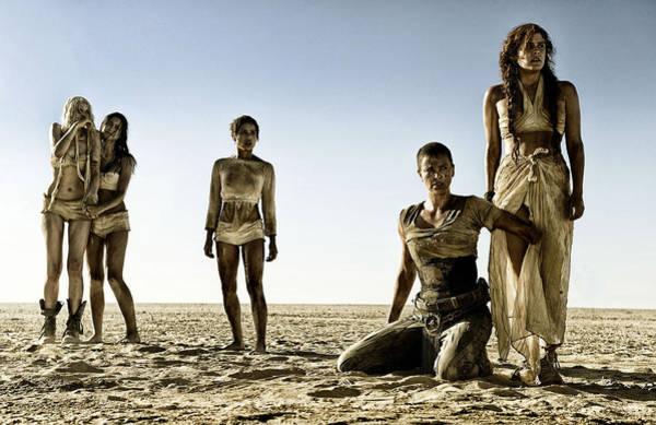 Sunset Digital Art - Mad Max Fury Road by Maye Loeser