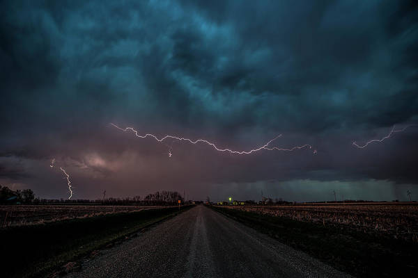 Wall Art - Photograph - Mad Sky  by Aaron J Groen