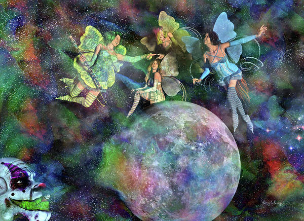 Wall Art - Digital Art - Mad Wicked Fun by Betsy Knapp