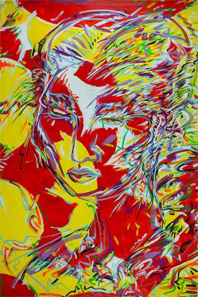 Ranchera Wall Art - Painting - Madama Butterfly by Jimmy Longoria