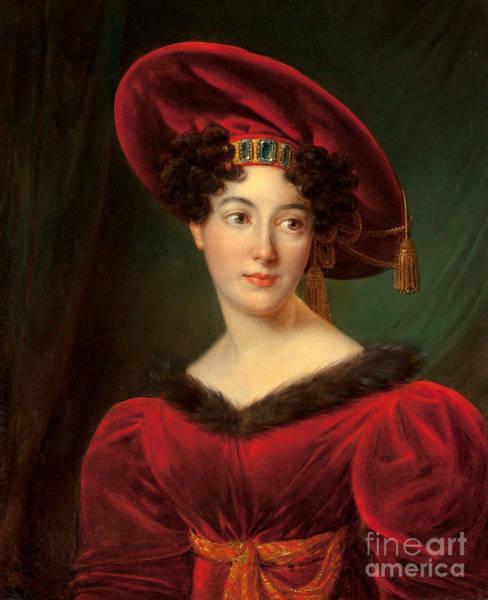 Painting - Madame Lestapis by J Kinson
