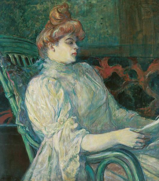 Painting - Madame Marthe X Bordeaux by Henri de Toulouse-Lautrec