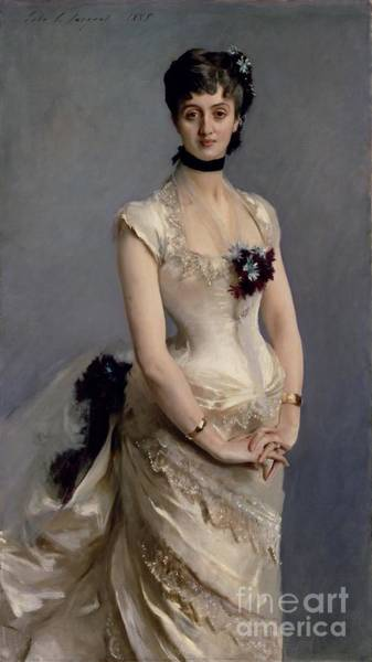 1885 Wall Art - Painting - Madame Paul Poirson by John Singer Sargent