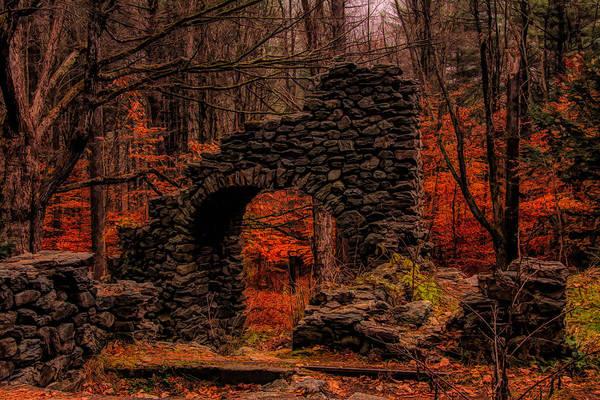 Photograph - Madame Sherris Castle Ruins by Jeff Folger