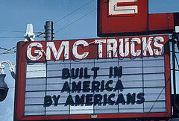 Visual Language Photograph - Made In America- The Signs Of The Times Collection by The Signs of the Times Collection
