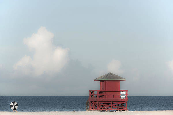 Guard Tower Wall Art - Photograph - Made In The Shade by Don Spenner
