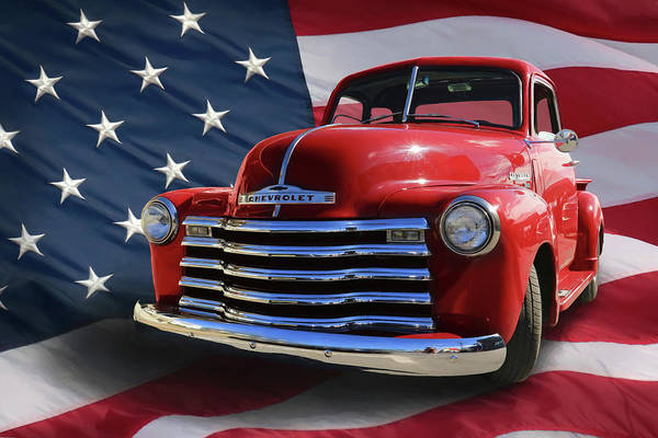 Pickup Man Photograph - Made In The Usa by Lori Deiter