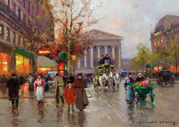 Wall Art - Painting - Madeleine by Edouard Henri Leon Cortes
