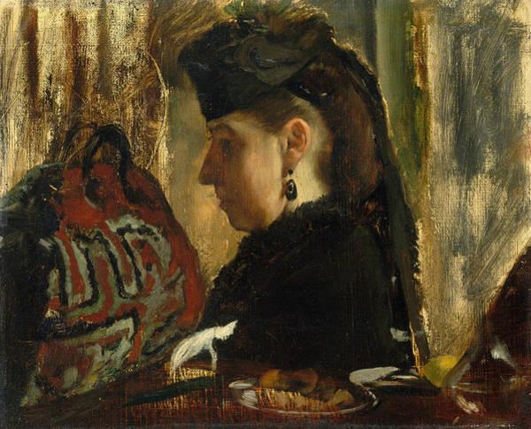 Painting - Mademoiselle Marie Dihau by Edgar Degas