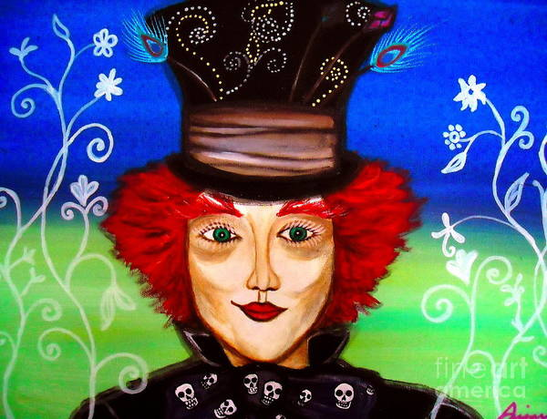 Painting - Madhatter by Pristine Cartera Turkus
