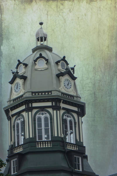 Photograph - Madison County Courthouse by Judy Hall-Folde