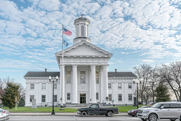 Photograph - Madison County Courthouse by Sharon Popek