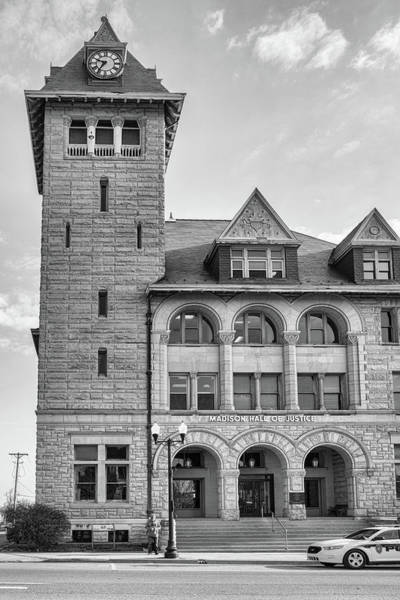 Photograph - Madison County Hall Of Justice by Sharon Popek