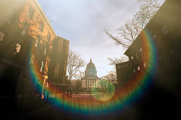 Photograph - Madison Spectrum by Todd Klassy