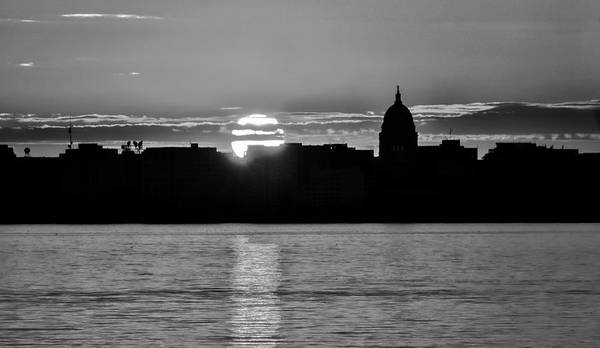 Photograph - Madison Sunset 3 by Steven Ralser