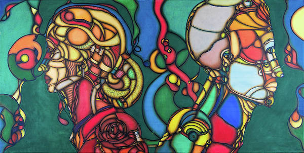 Painting - Madness 2014a002 by Lino Vicente