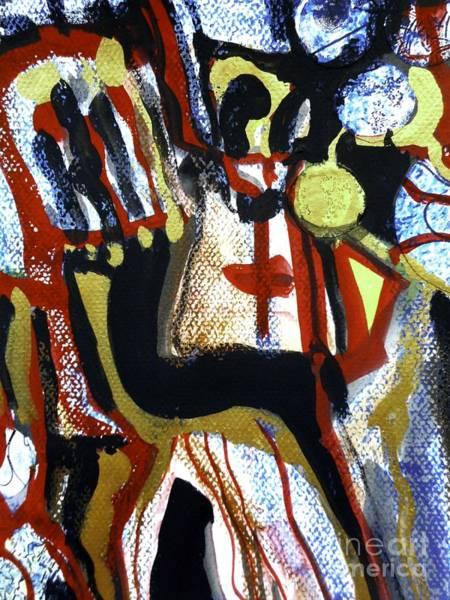 Painting - Madonna-2 by Katerina Stamatelos