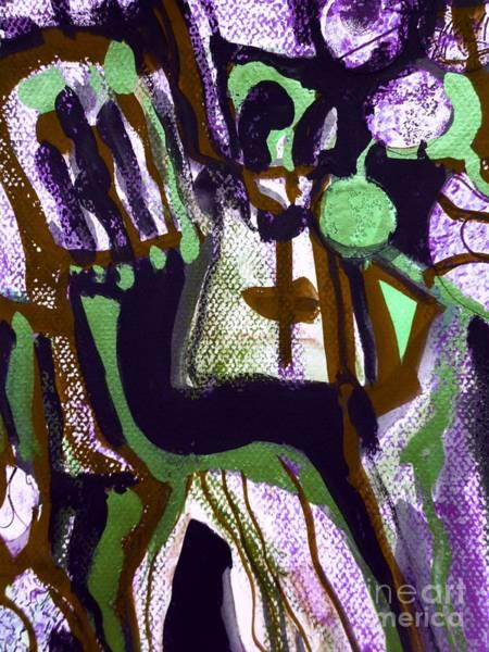 Painting - Madonna-3 by Katerina Stamatelos