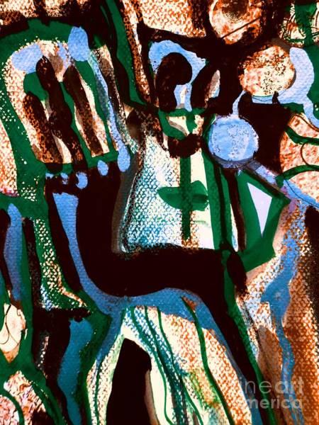 Painting - Madonna-4 by Katerina Stamatelos