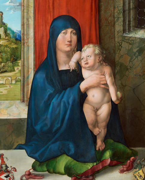 Painting - Madonna And Child by Albrecht Durer