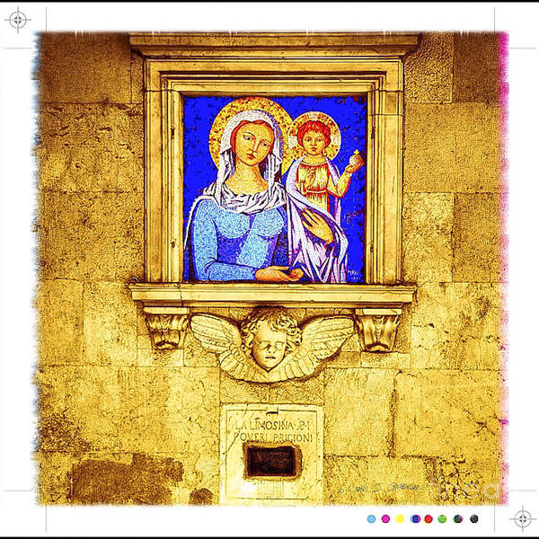 Photograph - Madonna And Child by Craig J Satterlee