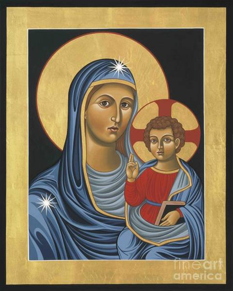 Painting - Madonna Della Strada by William Hart McNichols
