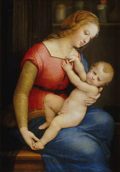 Painting - Madonna D'orleans by Raphael