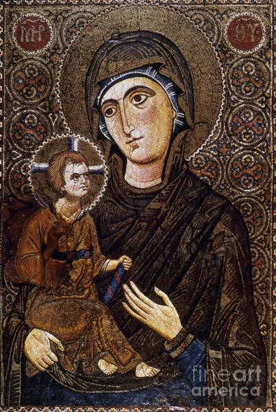 Photograph - Madonna Icon by Granger