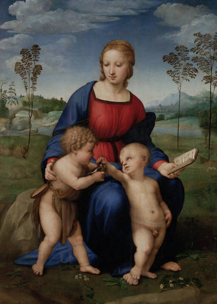 Painting - Madonna Of The Goldfinch by Raphael