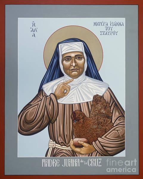Painting - Madre Juana De La Cruz - Lwmjc by Lewis Williams OFS