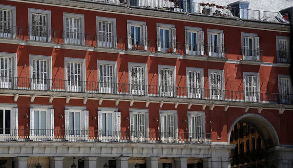 Photograph - Madrid 1 by Andrew Fare