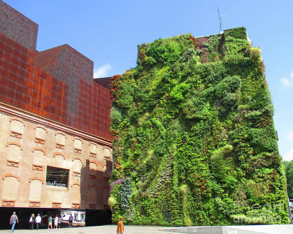 Caixa Forum Wall Art - Photograph - Madrid 48 by Randall Weidner