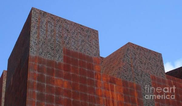 Caixa Forum Wall Art - Photograph - Madrid 49 by Randall Weidner