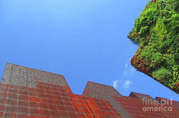 Caixa Forum Wall Art - Photograph - Madrid 53 by Randall Weidner