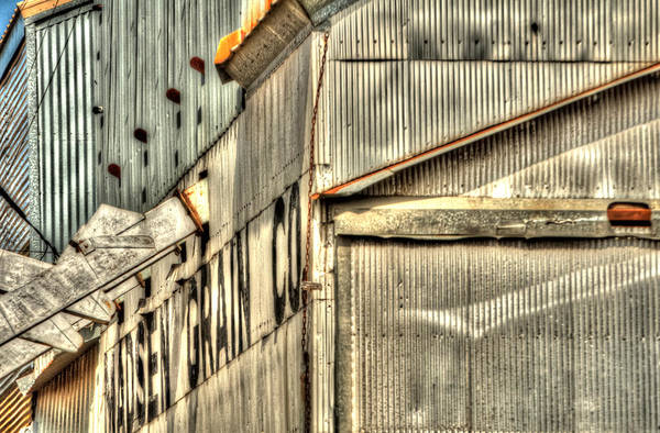 Photograph - Madsen Grain Company by Jerry Sodorff
