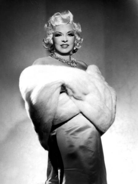 Sultry Photograph - Mae West by American School