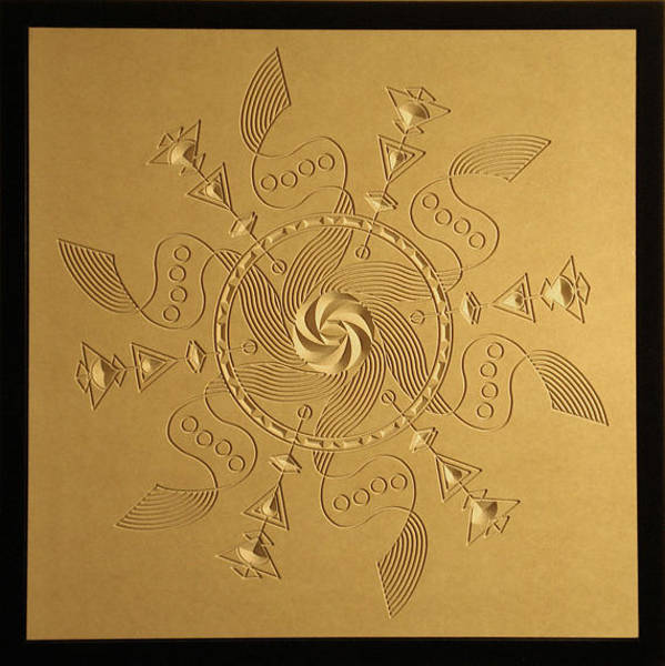 Reliefs Wall Art - Relief - Maelstrom Relief by DB Artist